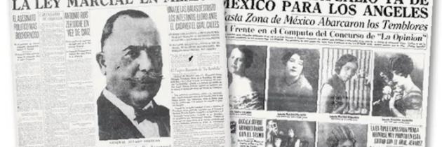 El inmigrante mexicano que fundó el diario La Opinion